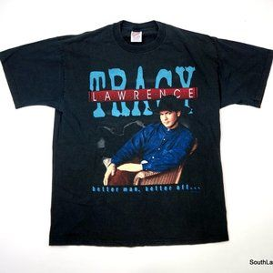 Tracy Lawrence Better Man Better Off 97 Tour Tee